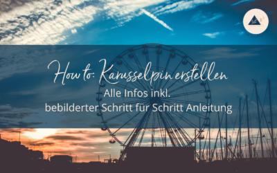 How to: Karusselpin erstellen – Alle Infos inkl. bebilderter Schritt für Schritt Anleitung